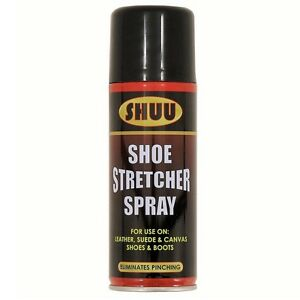 shoe stretcher spray can for leather suede canvas boots