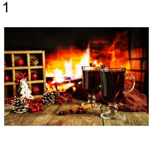 UK/_ A raging Fire Burning Wood Photograph Background Photo Backdrop Props Studio
