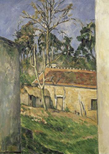 4230 Paul Cezanne Art Print//Poster Farmyard
