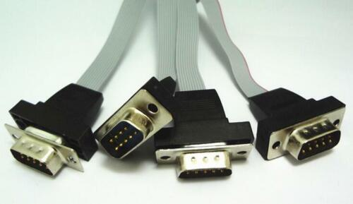PH 2.0 IDE to 4 DB9 9Pin Com Port Cable for Industrial Motherboard Mini ITX