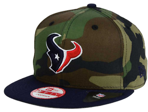 Houston Texans New Era 9Fifty CAMO Snap Back Hat Camouflage Salute ... e08ce28f198