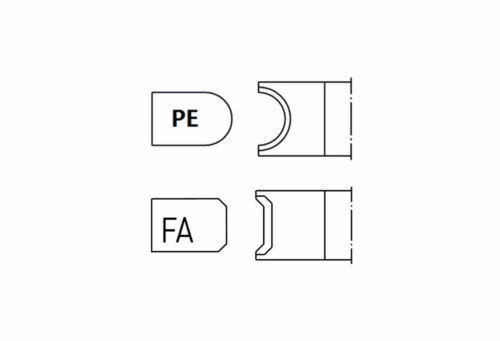 PE Shape Edge Glass Diamond Grinding Polish Wheel 150*22*3,4,5,6,8,10mm