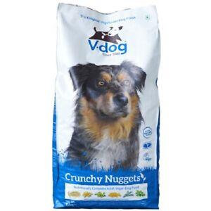 V-dog Végétarien Croquant Pépites 15kg Complet Équilibré Vegan Maintenance