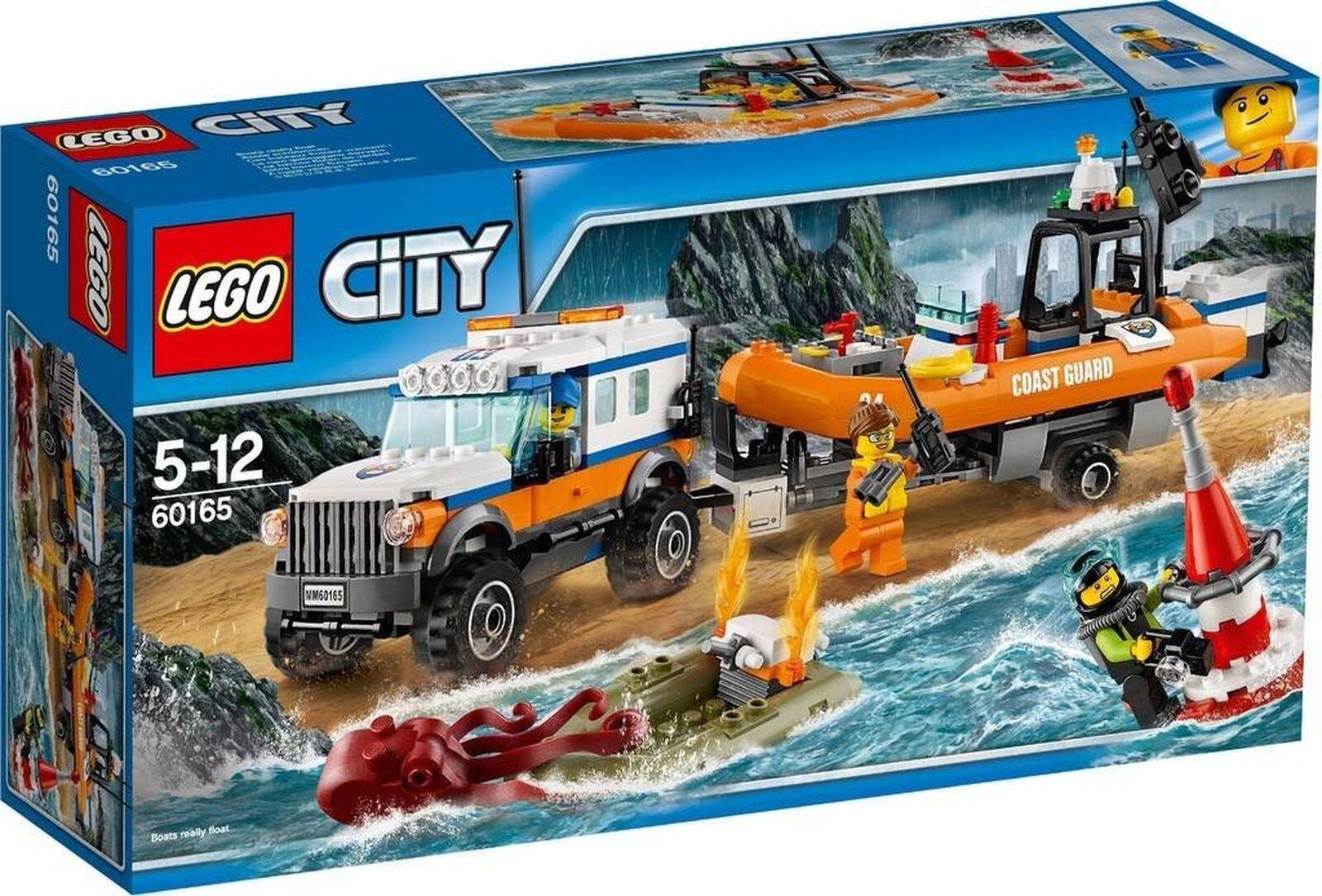 LEGO CITY 4 x 4 unità di risposta 60165