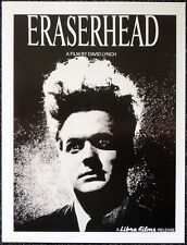 ERASERHEAD 1977 FILM MOVIE POSTER PAGE . DAVID LYNCH . V52