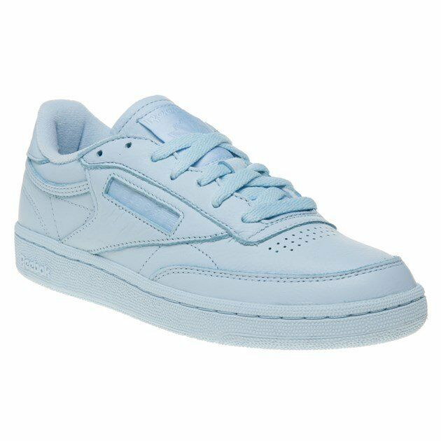 0850c44789a8 Womens Reebok Club C 85 Trainers Fresh Blue Elm Trainers Shoes UK 4 for sale  online