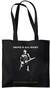 Bruce Springsteen - Prove It All Night - Tote Bag (Jarod Art Design)