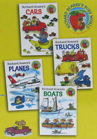 Richard Scarry Cars,trucks,planes & Boats 4 Board Book Set