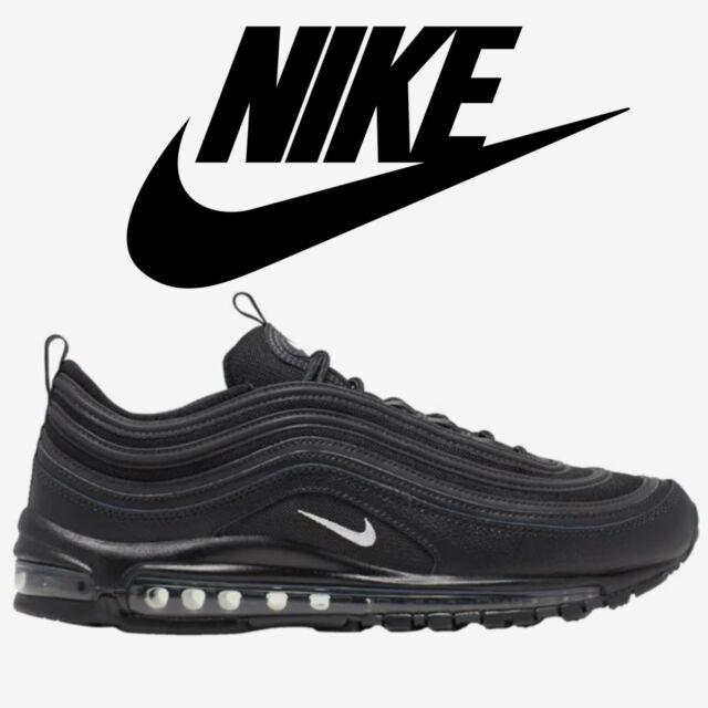 Size 9 - Nike Air Max 97 Black Terry Cloth