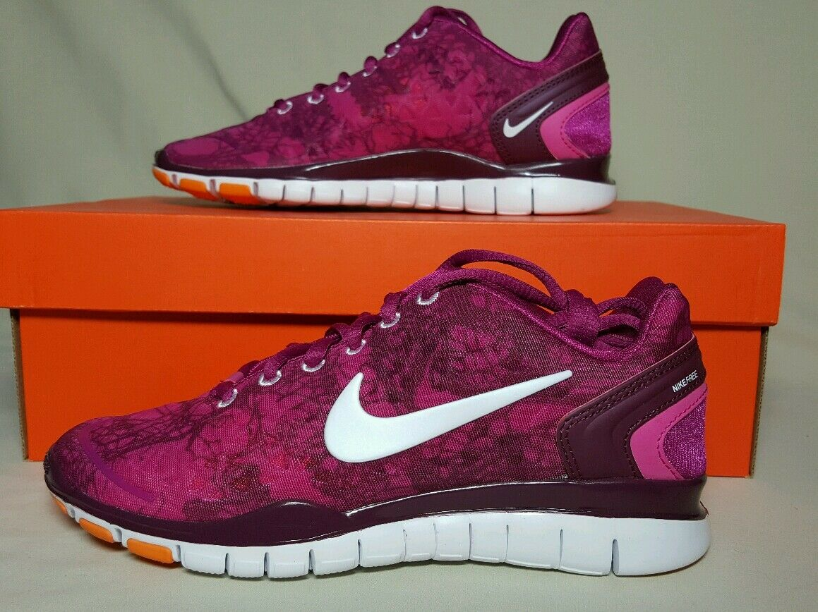 NIKE WOMEN'S FREE TR FIT 2 PRINT MULTIPLE SIZES NEW IN BOX 524893 600 New shoes for men and women, limited time discount