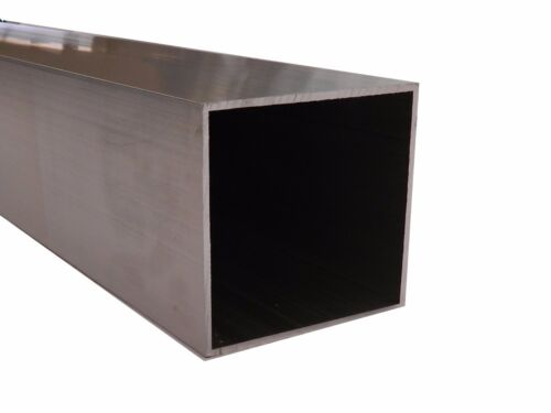 Aluminium square Tube Hollows 125mm x 125mm x 3mm at 6.5m long mill finish