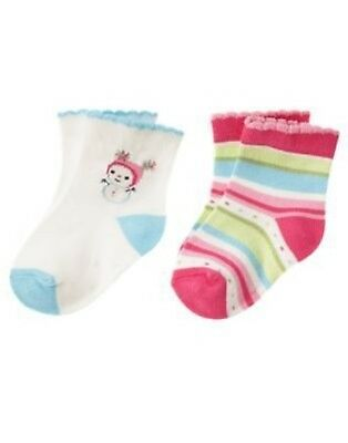 GYMBOREE VENICE SWEETIE CAT 2-PAIR OF GIRLS SOCK 0 3 6 12 nwt