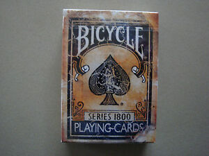 BICYCLE-SERIES-1800-BLUE-DECK-VINTAGE-PLAYING-CARDS-BY-ELLUSIONIST-MAGIC-TRICKS