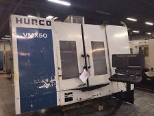 Used Hurco Vmx 50 Cnc Vertical Mill Machining Center Vmc 10000 Rpm Ct40 2000