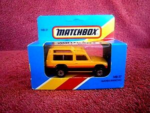MATCHBOX-1981-MB-37-MATRA-RANCHO-MADE-IN-ENGLAND-UNOPENED