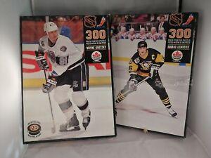 Lot-Of-2-Vintage-Nhl-Puzzles-300pcs-Each-Mario-Lemieux-Wayne-Gretzky