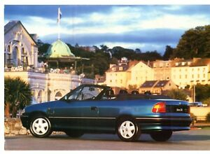 Vauxhall-Astra-Convertible-Special-Offer-Mid-1994-UK-Market-Leaflet-Brochure