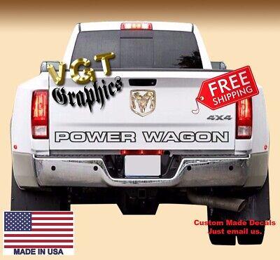 Dodge Ram Hemi Sport Rear Bed Vinyl Decal Stripes Truck Graphics T-193