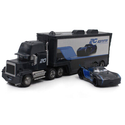 Cars 3 Toys Jackson Storm Mack Hauler Truck Racer Metal Toy Car