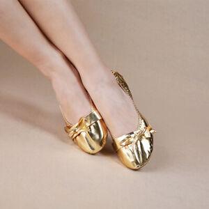 X11005-Bauchtanz-Schlaeppchen-Ballette-Schuhe-Shoes-Gold-Silber