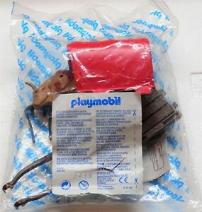 Chariot à Chariots Playmobil 7219 To Knight Robber Knight En Original Foil Nouveau