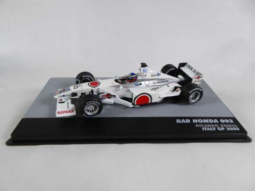 Zonta GP Italy 2000-1:43 MODEL CAR F1 701 Formula 1 Bar Honda 002 R