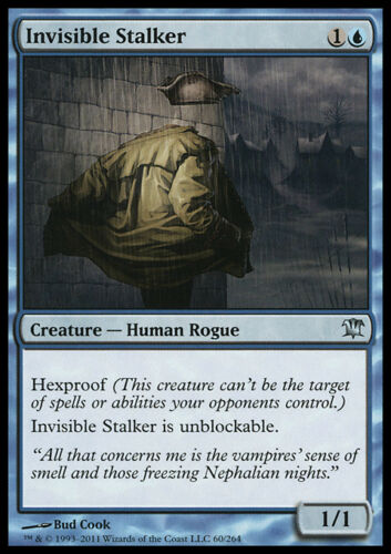 4x NM Invisible Stalker x4 Innistrad