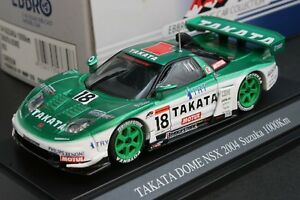 Details About Ebbro 43630 143 Scale Takata Dome Honda Nsx 2004 Suzuka 1000km Die Cast Model