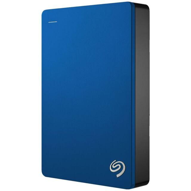 Seagate 5TB Backup Plus Hard Drive Blue