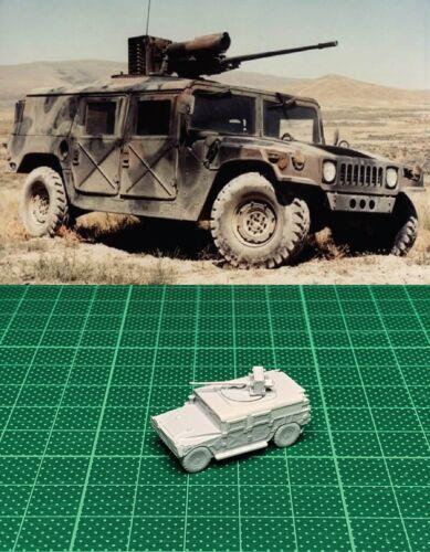 1//144 USA Hummer with M242 Bushmaster Resin Kit