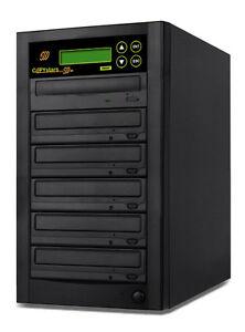 1-5-Copystars-CD-DVD-Dual-layer-Burner-128MB-DVD-Duplicator-Copier-tower