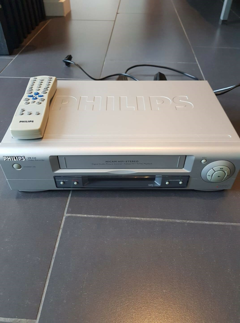 VHS videomaskine, Philips, VR 530, God, VHS fra Philips Der…