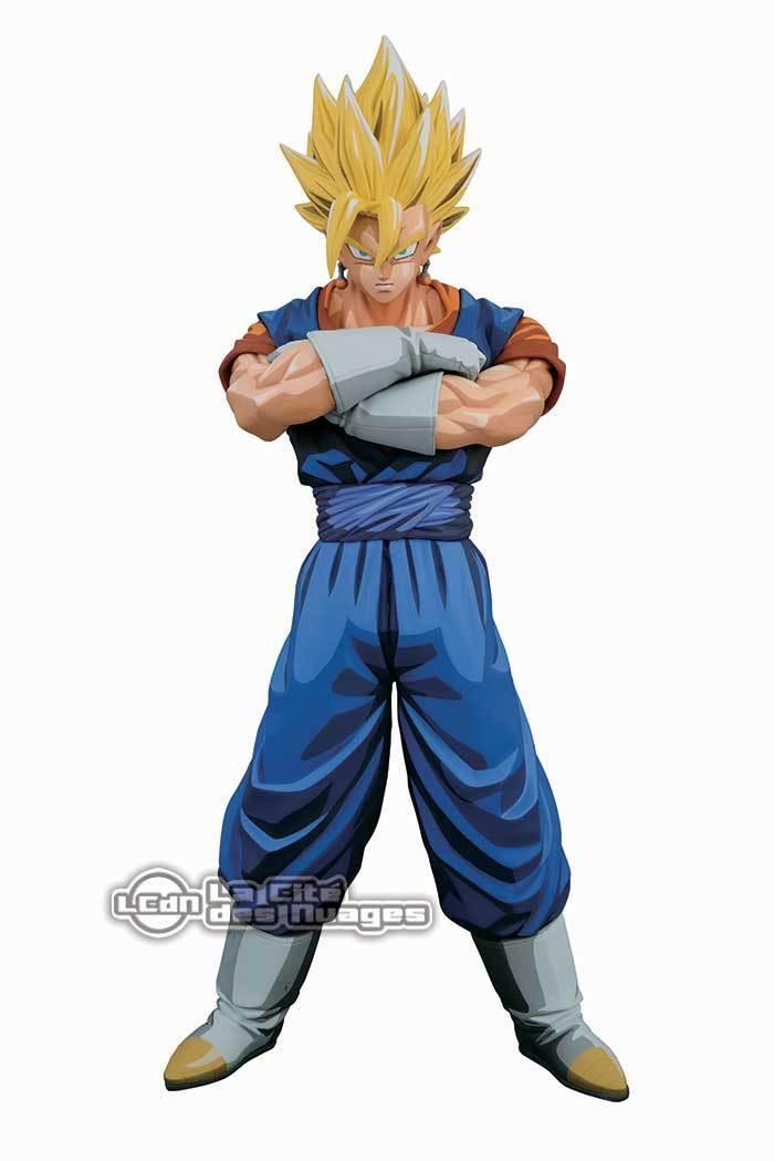 DRAGONBtutti Z  Master estrellas Piece Super Saiyan Vegetto uomoga Dimensions PVC Statue  ecco l'ultimo