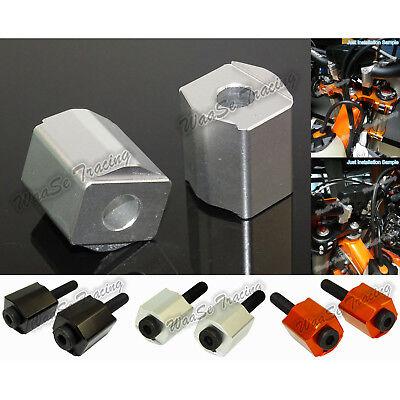 CNC Handlebar Riser Kit Moves Bar Up 30mm For KTM 125-530 SX//EXC 690 Enduro//SMC