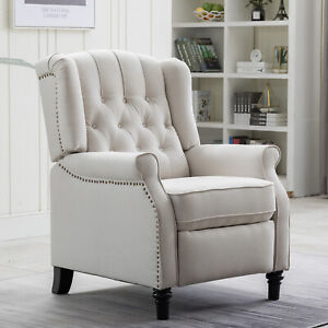 Elizabeth-Accent-Recliner-Chair-Push-Back-Padded-Seat-Roll-Arm-Sofa-Living-Room