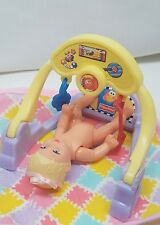 MATTEL HAPPY FAMILY BABY PLAY SET TOY ONLY~BARBIE FURNITURE FOR DIORAMA DISPLAY