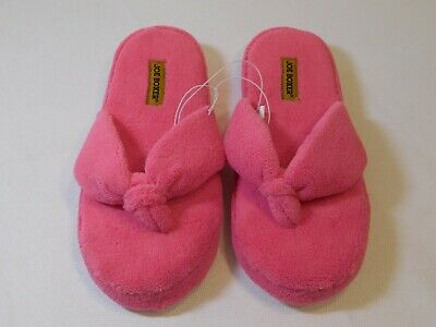 Women's Shoes Clever Joe Boxer Mindy House Slippers Us 9/10 Mex 26/27 Eur 41.5/42.5 Uk 7.5/8.5 Pink Durable Modeling