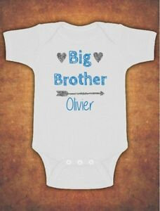 Image Is Loading Personalised Big Brother Birthday Present Gift BabymKids Grow