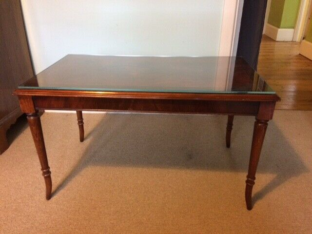 Stag Minstral Mahogany Period Designed Classic Long John Coffee Table