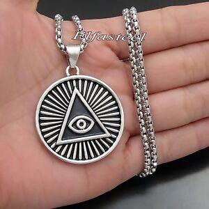Illuminati the all seeing eye illunati pyramideye symbol pendant image is loading illuminati the all seeing eye illunati pyramid eye mozeypictures Images