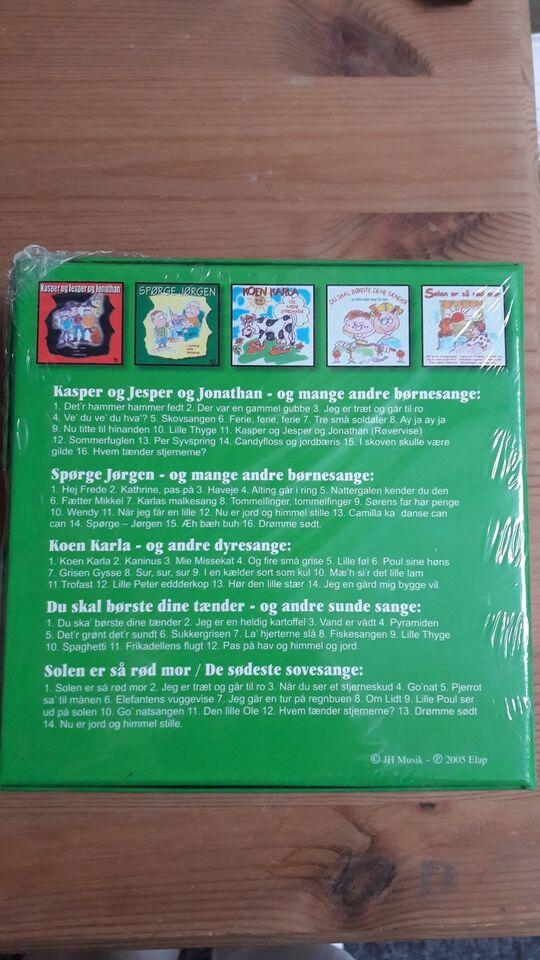 Box: De bedster til de mindste, børne-CD