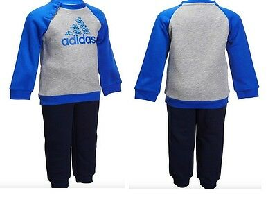 ADIDAS BABY INFANT KIDS  BOYS TODDLER TRACKSUIT SET PLAY GYM  COTTON NEW