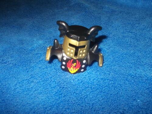LEGO DUPLO Chevalier personnage 1 X CASQUE NOIR OR Phoenix Armure 4785 51727pb04