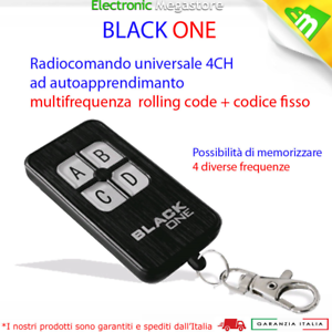 TELECOMANDO RADIOCOMANDO TRASMETTITORE PUJOL SAP VARIO 433,92 MHZ ROLLING CODE