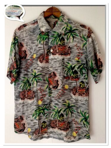 Rare Vintage 50's Aloha Shirts Collectible Hawaiia
