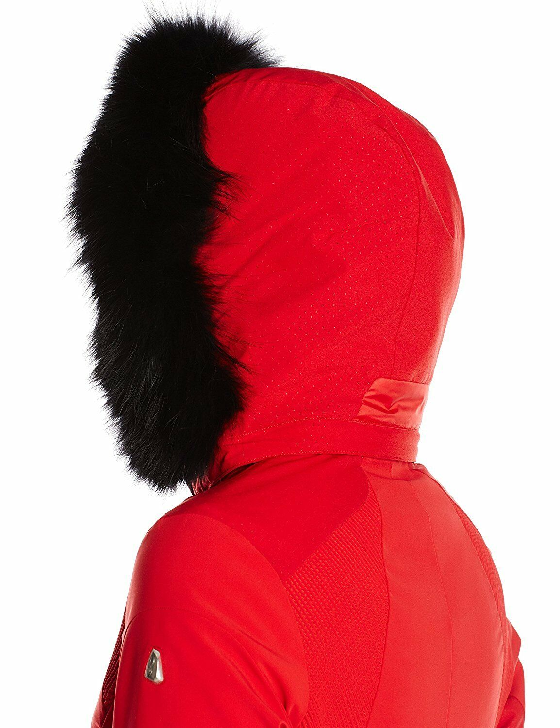94406992316bb Spyder Women s Posh Real Fur Jacket 154004 Red Vampire Size 6 for ...