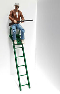 Deer-Stand-1-10-Scale-Shop-Garage-Rock-Crawler-Doll-House-Accessories-USA