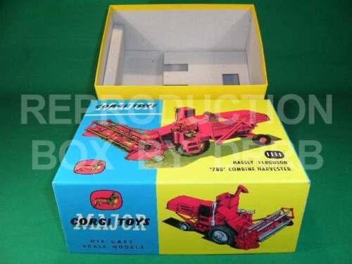 Reproduction Box by DRRB Corgi #1111 Massey Ferguson /'780/' Combine Harvester