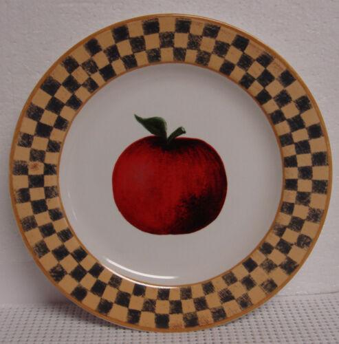 Block COUNTRY ORCHARD Salad Dessert Plate BEST  ~~CHOICE PIECE~~