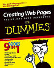 Creating Web Pages All-in-one Desk Reference for Dummies by Damon A. Dean, Emily Sherrill Weadock, Stephen Lockwood, Doug Lowe, Eric J. Ray, Joyce J. Nielsen, Camille McCue, Mariva H. Aviram, Deborah S. Ray, Emily A. Vander Veer (Paperback, 2004)